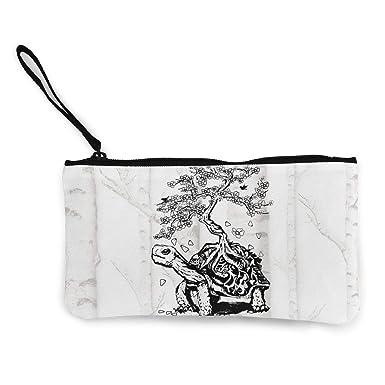 Amazon.com: MarthaStill Turtle Bonsai - Monedero de viaje ...