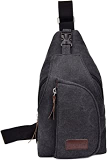 Amazon.com: Men's Small Canvas Military Messenger Shoulder Travel ...