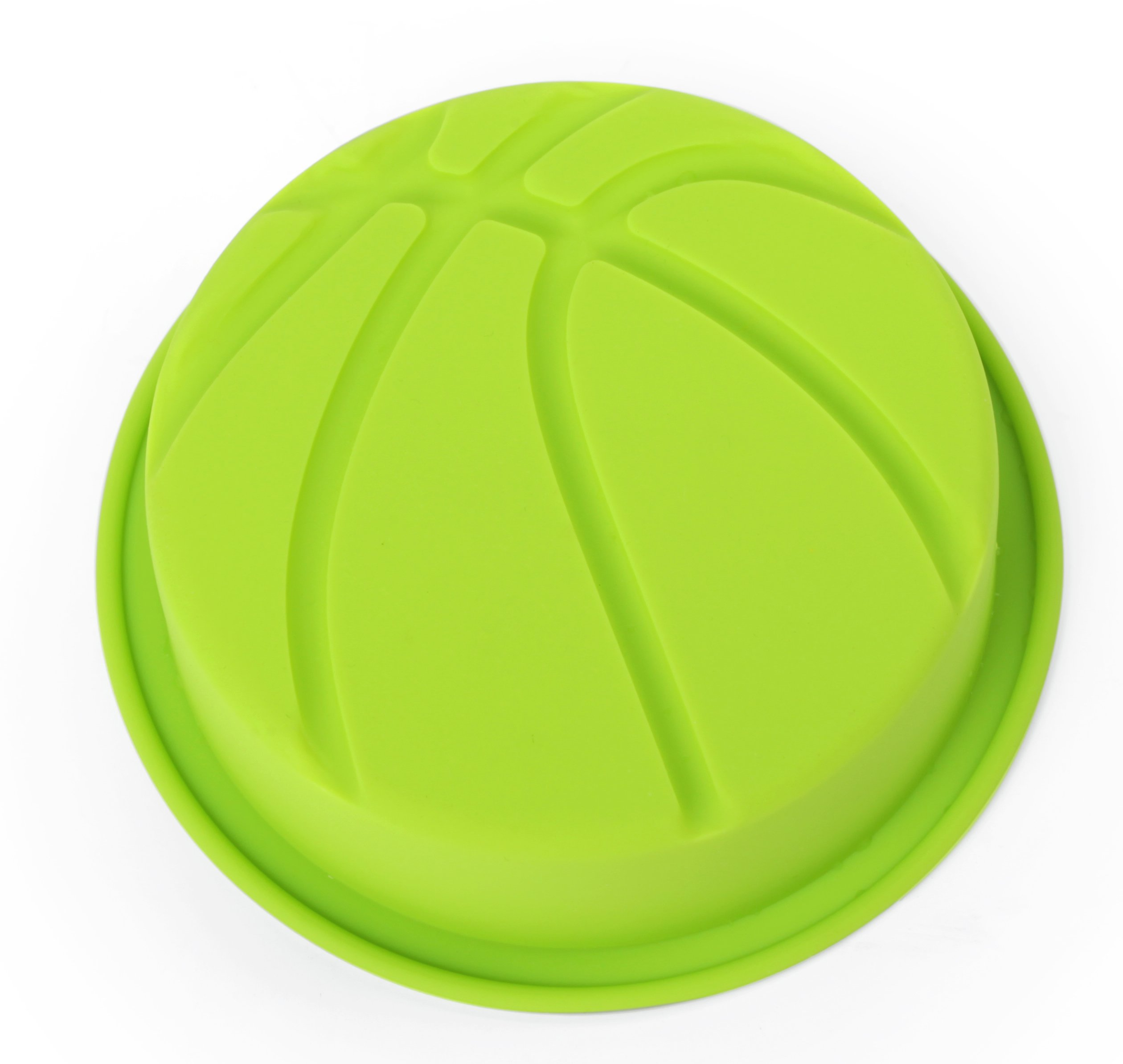Home Value Colorful Silicone Sports Ball Set'' Soccer, Tennis, Baseball, Basketball '' Cake Mold, Assorted Colors (HVCOOKIECUTSC09) by Value Home (Image #6)