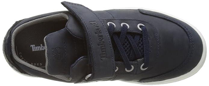 Timberland Court Side, Zapatos de Cordones Oxford Unisex Niños, Marrón (Trail Saddleback Full Grain G28), 34 EU