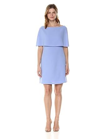 2870955fb62b Adrianna Papell Women s Split Sleeve Popover Cameron Textured Dress ...