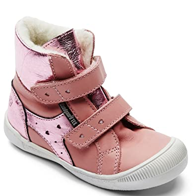 a5a64466ab4 Bundgaard Kids Boot Grace Boot Old Rose Savage/Pink Siena: Amazon.co.uk:  Shoes & Bags