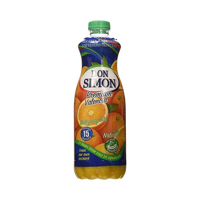 Don Simon Premium Valencia Zumo de Naranja con Pulpa - 1 l: Amazon.es: Amazon Pantry