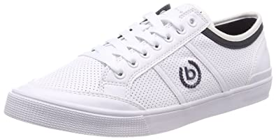 Herren 321168025900 Sneaker, Weiß (White), 44 EU Bugatti
