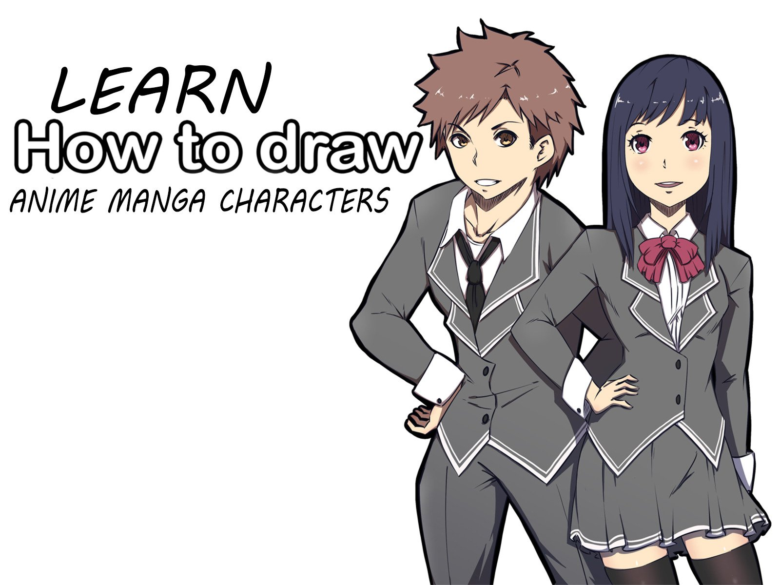 Watch Learn How To Draw Anime Manga Characters Prime Video