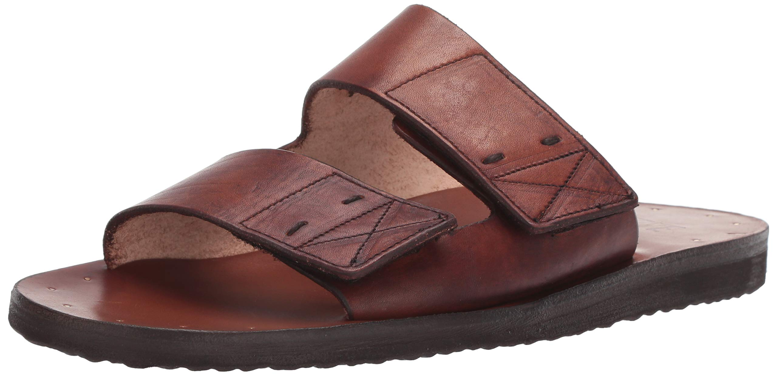 FRYE Men's Cape Double Band Slide Sandal, Cognac, 11 M M US