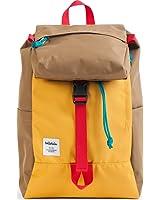 Hellolulu Sutton Drawstring Backpack - Yellow/Khaki
