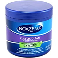 Noxzema Classic Clean Moisture Cleansing Cream 12 Ounce Jar (354ml) (2 Pack)