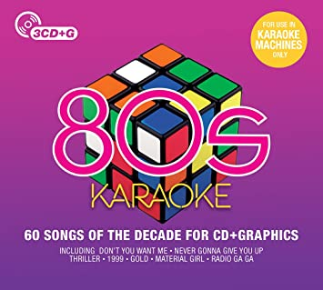 various artists 80s karaoke amazon com music
