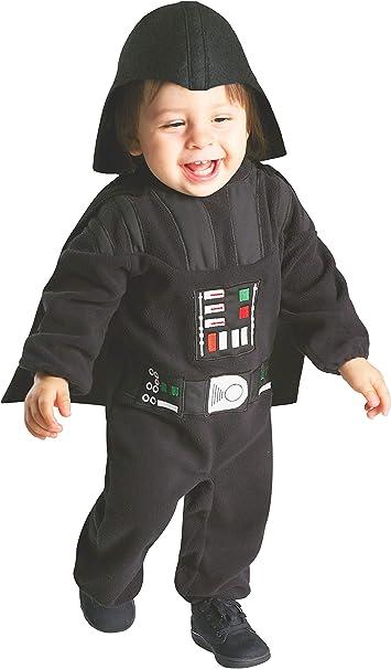 Amazon.com: Disfraz mameluco Rubies Star Wars Darth Vader ...