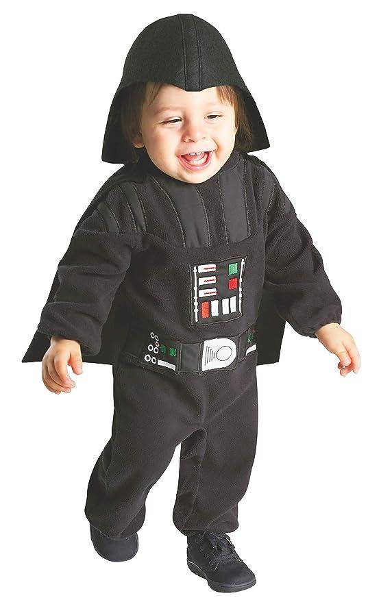 Star Wars - Disfraz de Darth Vader para niños, infantil 1-2 años (Rubies 888260)
