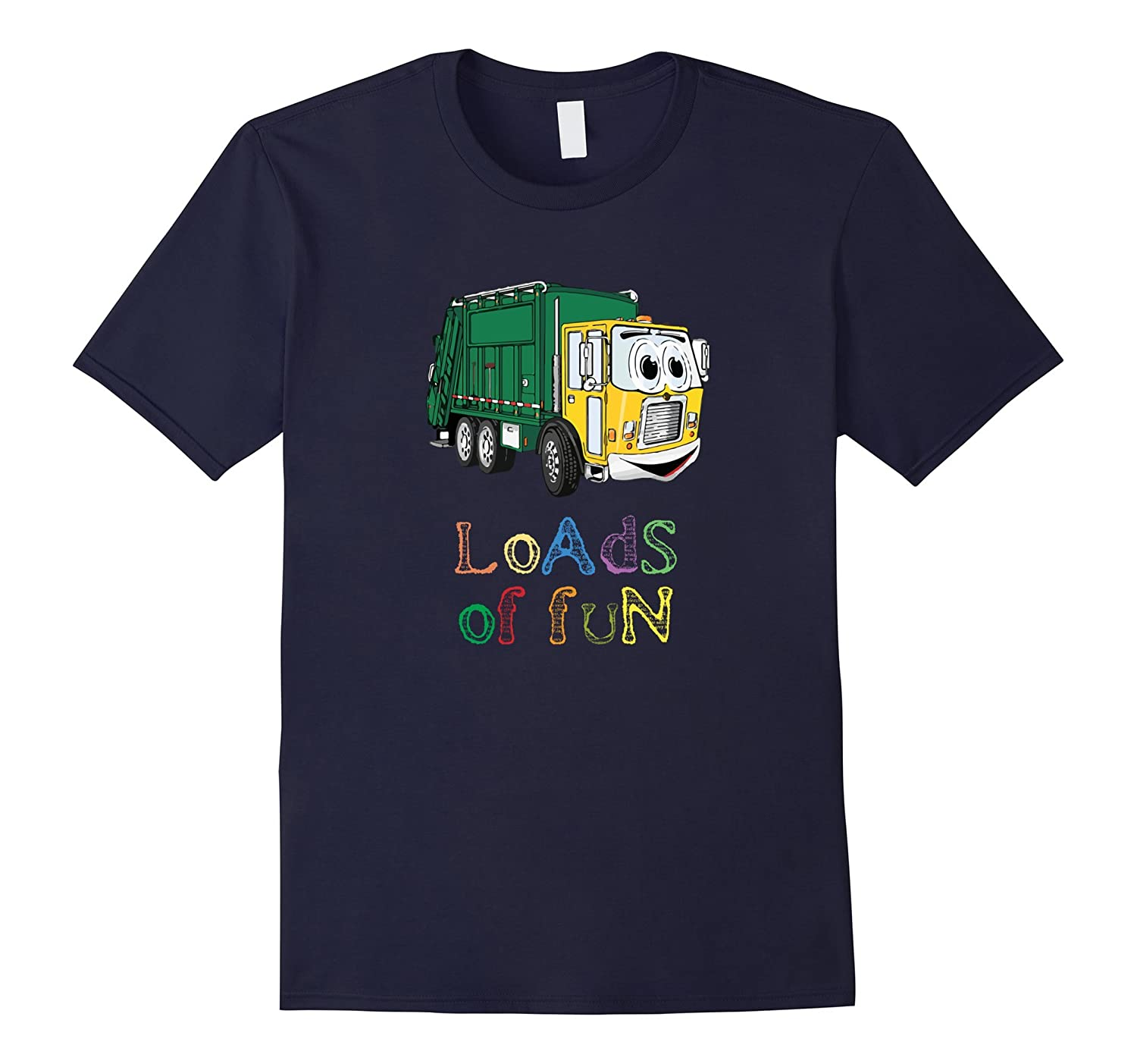 Garbage  Trash Truck T-Shirt for kids and adults -CD