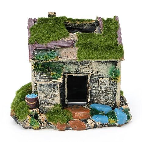 KunmniZ - Adorno para Acuario o casa con Forma de Cueva, Resina, diseño de