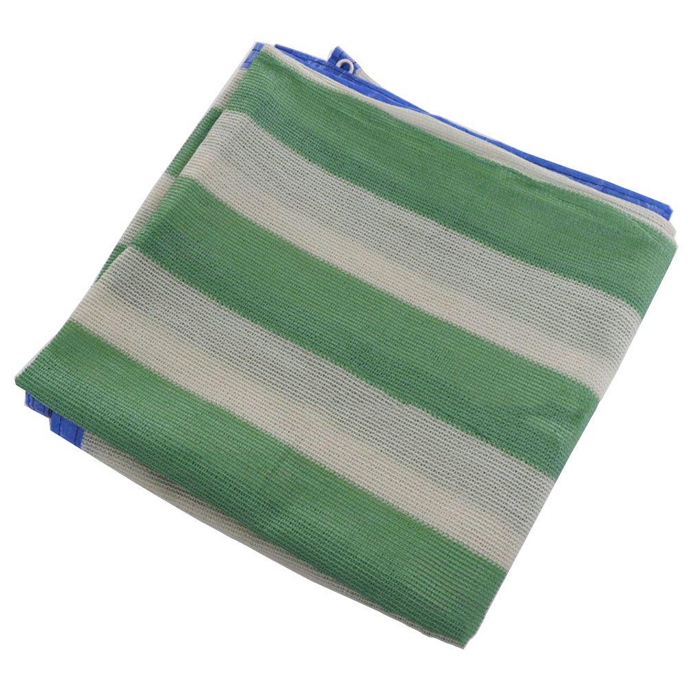 LIANGLIANG Rete Parasole Serre Antivento Ombreggiatura Traspirante Durevole Liscia Tenda da Sole Multifunzione Protettiva Floreale con Foro in Metallo Polietilene, 2 Modelli