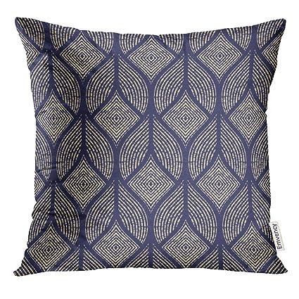 Strange Amazon Com Emvency Throw Pillow Cover Royal The Geometric Uwap Interior Chair Design Uwaporg
