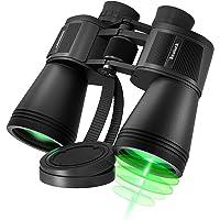 10X50 Binoculars for Bird Watching, HD Professional/Waterproof Binoculars for Adults, Large Eyepiece, Low Light Night…