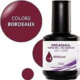Smalto semi permanente per Fornetto UV/LED - Bordeaux - C155