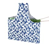 Teamoy Knitting Tote Bag, Travel Canvas Project