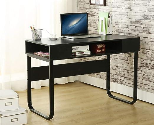 EBS - Mesa de escritorio para casa y oficina, diseño simple y ...