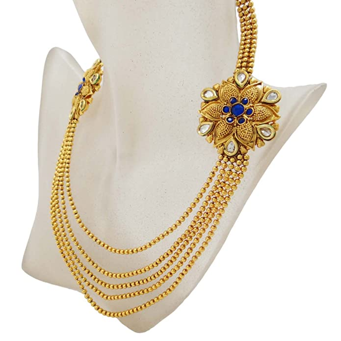 Jewelry & Watches Bridal & Wedding Party Jewelry Indian Ethnic Traditional Necklace Set Wedding Gift Bollywood Jewelry Bng1789d