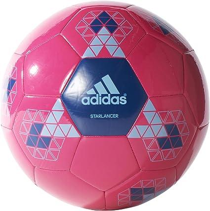 adidas Starlancer V - Balón para Hombre, Color Rosa/Azul, Talla 5 ...