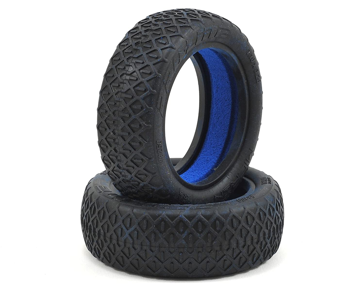 1/10 Front Micron 2.2 2WD MC Tyres with Closed Cell Foam inserts: Off-Road Buggy (2) B019ECIRSQ