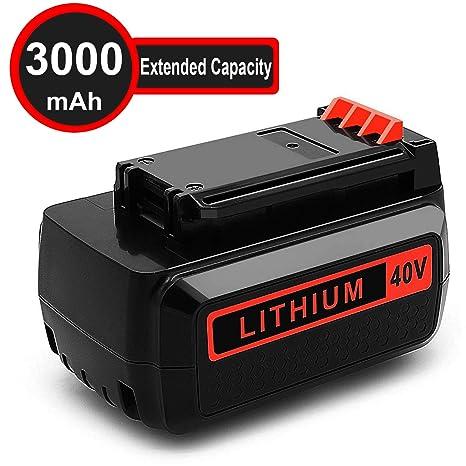 Amazon.com: Batería de repuesto de litio para Black and ...
