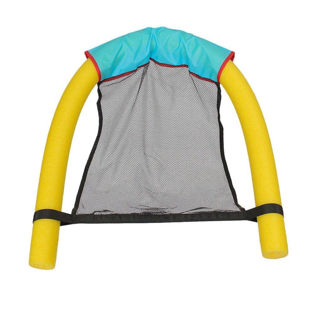 Leezo - Silla Flotante para Piscina, Silla de Piscina, Silla Flotante para niños y Adultos, 3 Colores, Yellow(Floating Chair): Amazon.es: Deportes y aire ...