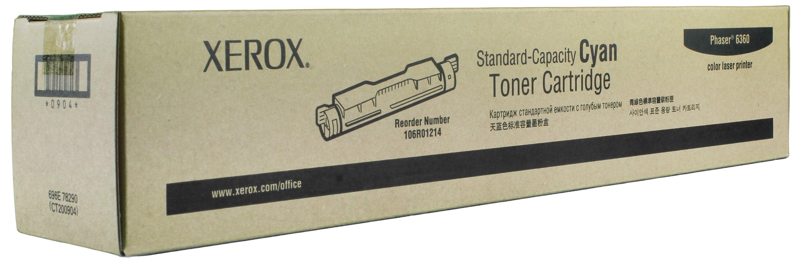 Toner Original XEROX 106R01214 Phaser 6360 (Cyan)