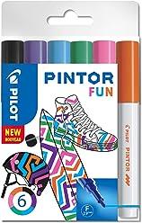 """PILOT PINTOR F - 6er Set """"Fun"""""""