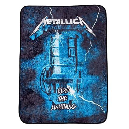 Amazon Metallica The Master Collection Ride The Lightning Beauteous Metallica Throw Blanket