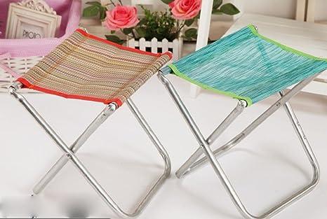 malla de acero plegable silla plegable portátil de sillas ...
