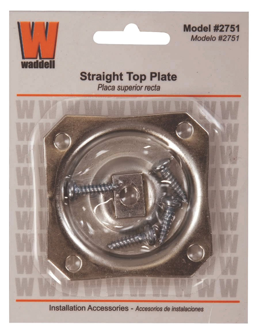 Amazon.com: Waddell Straight Top Hardware Plate, 2751A: WADDELL  MANUFACTURING: Kitchen U0026 Dining