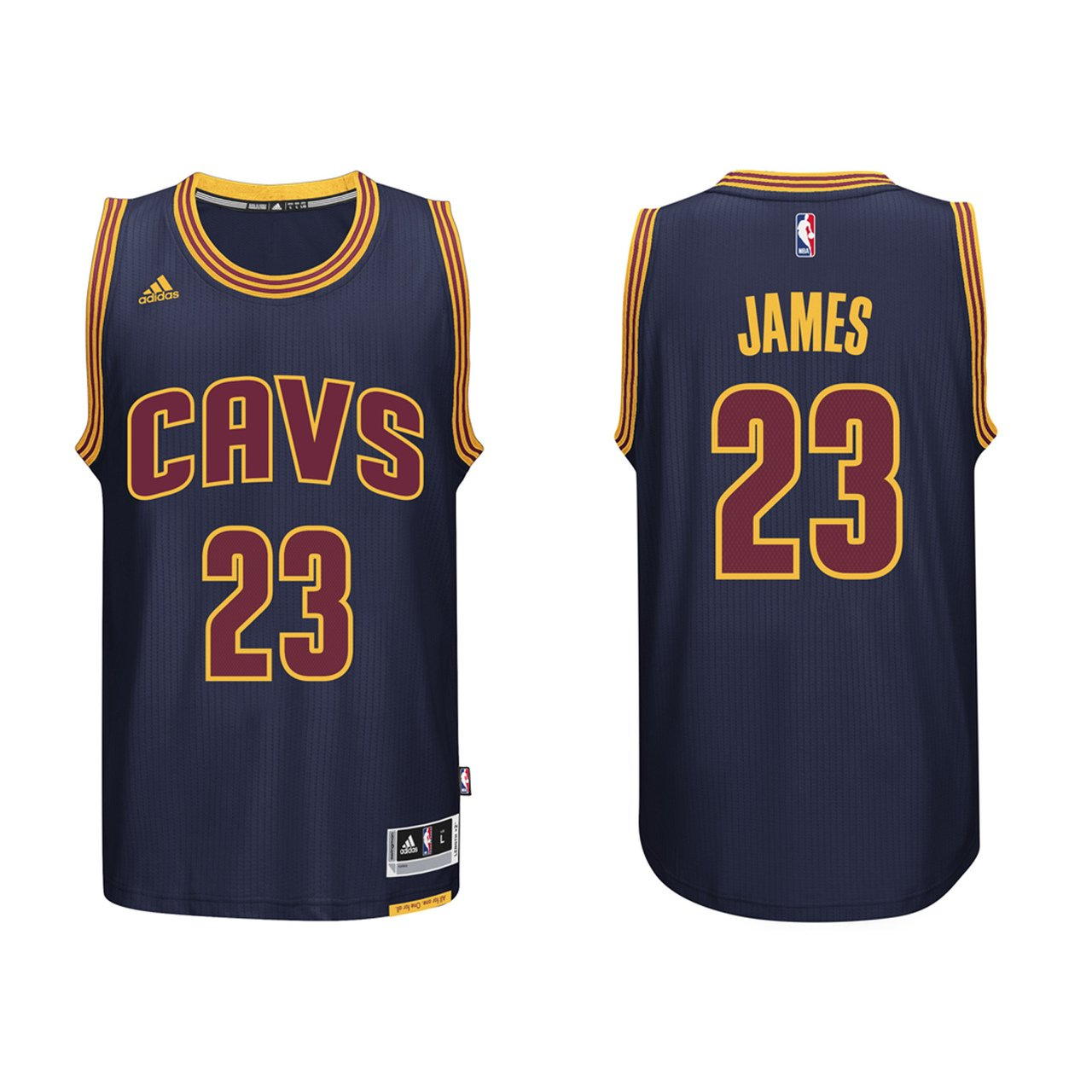 super popular 331f1 b05e8 adidas Lebron James Men's Navy Cleveland Cavaliers Swingman Jersey