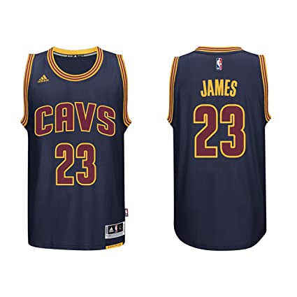 super popular e7ee4 2c8c3 adidas Lebron James Men's Navy Cleveland Cavaliers Swingman Jersey