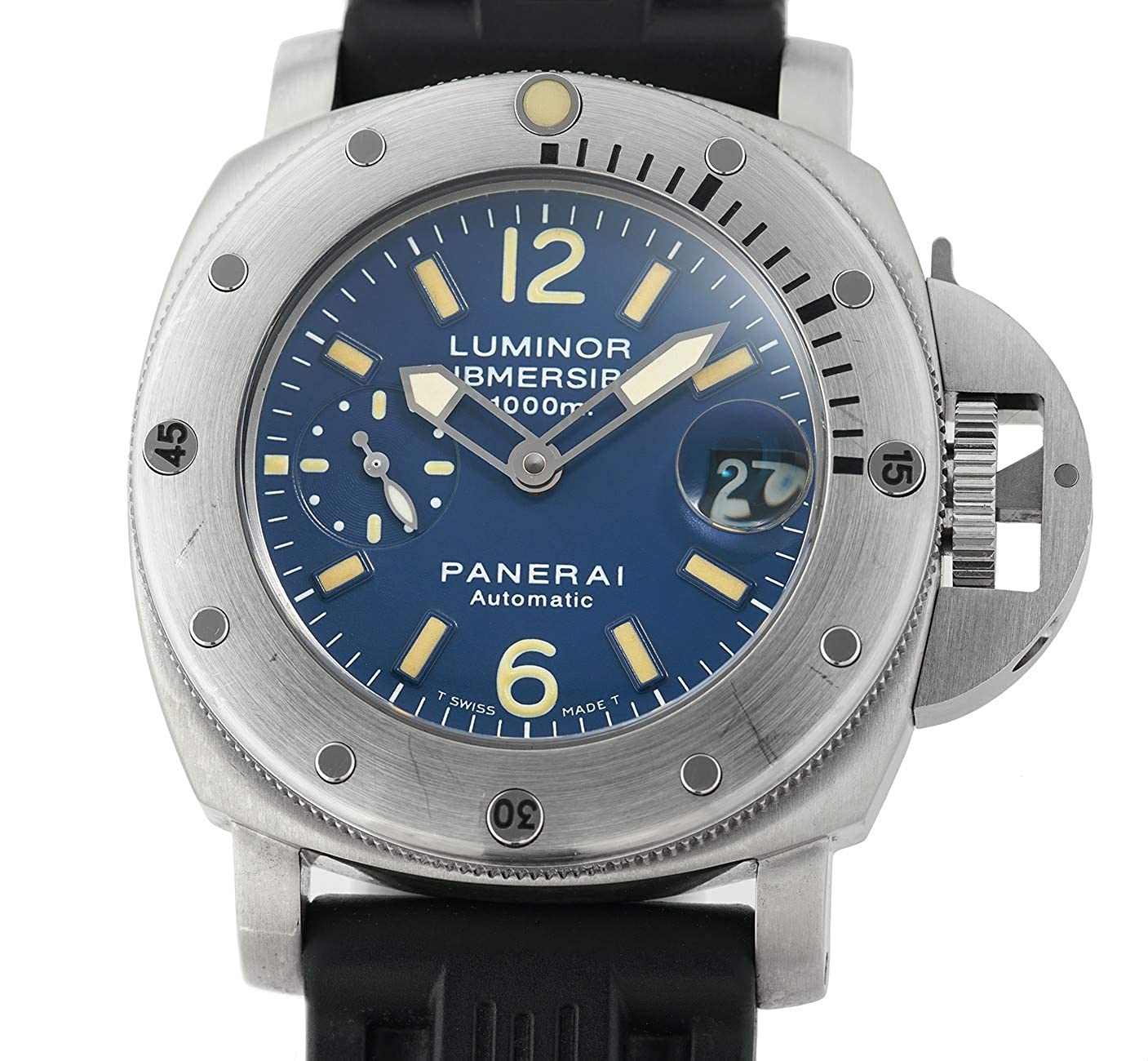 Amazon.com: Panerai Luminor Submersible Automatic-self-Wind ...