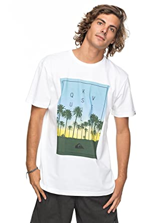 Billabong Locked In Ss, Camiseta para Hombre, Azul (Navy), Small amazon blanco Estampado