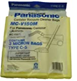 Panasonic MC-v150M Canister Vacuum Cleaner Type C-5 Vacuum Cleaner Bags