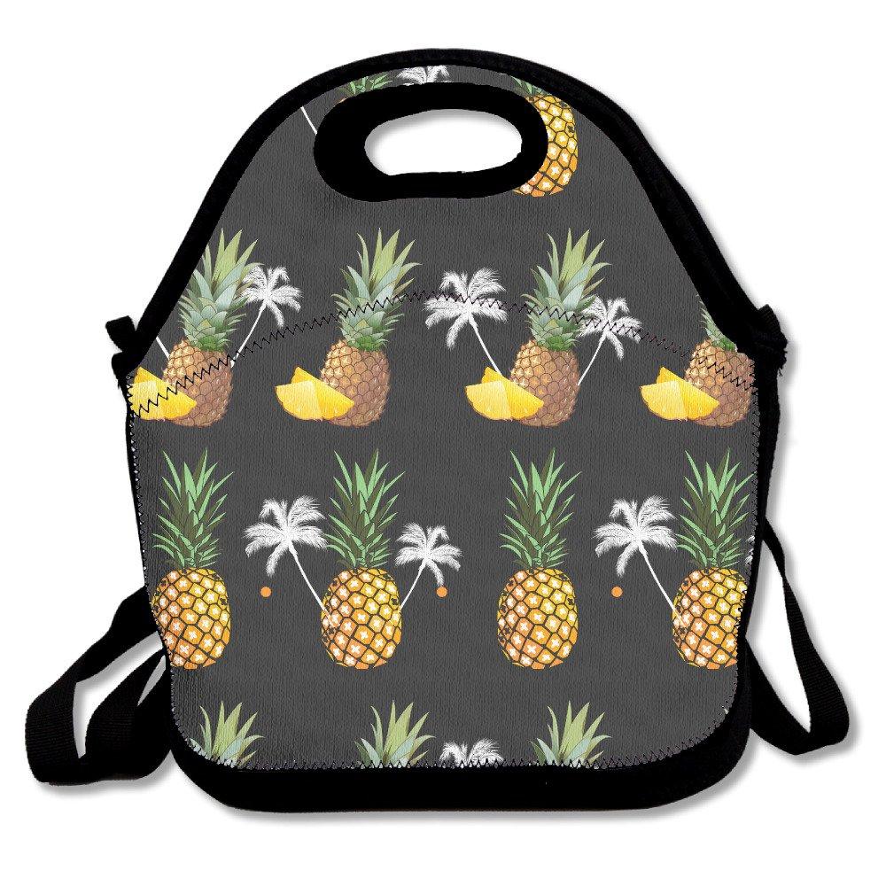 Piña cómodo bolsa para el almuerzo Picnic bolsa mochila bolsa pijkoum