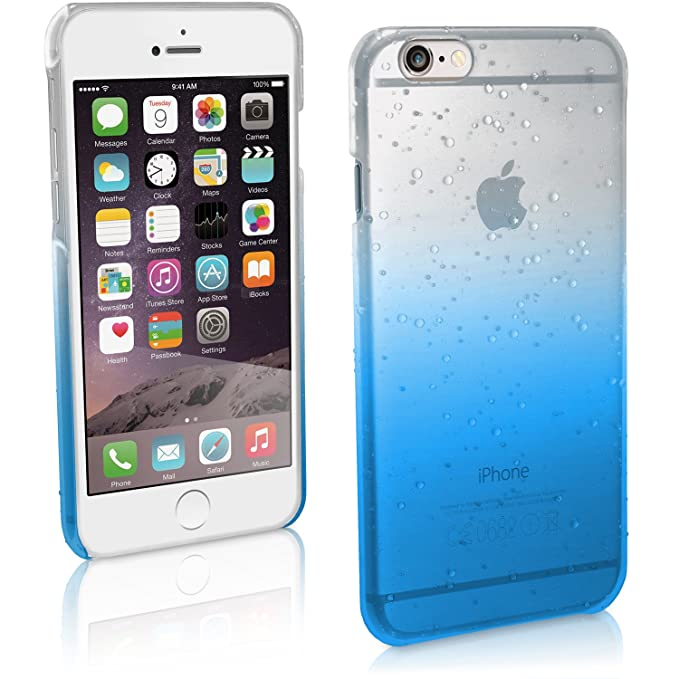 42 opinioni per igadgitz U3267 Custodia PC Rigida per Apple iPhone 6 & 6S 4.7 Cover Goccia di
