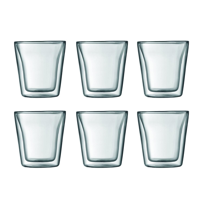 Bodum Canteen Double Wall Espresso/Shot Glass, Set of 2 Bodum Kitchenware 10108-10US