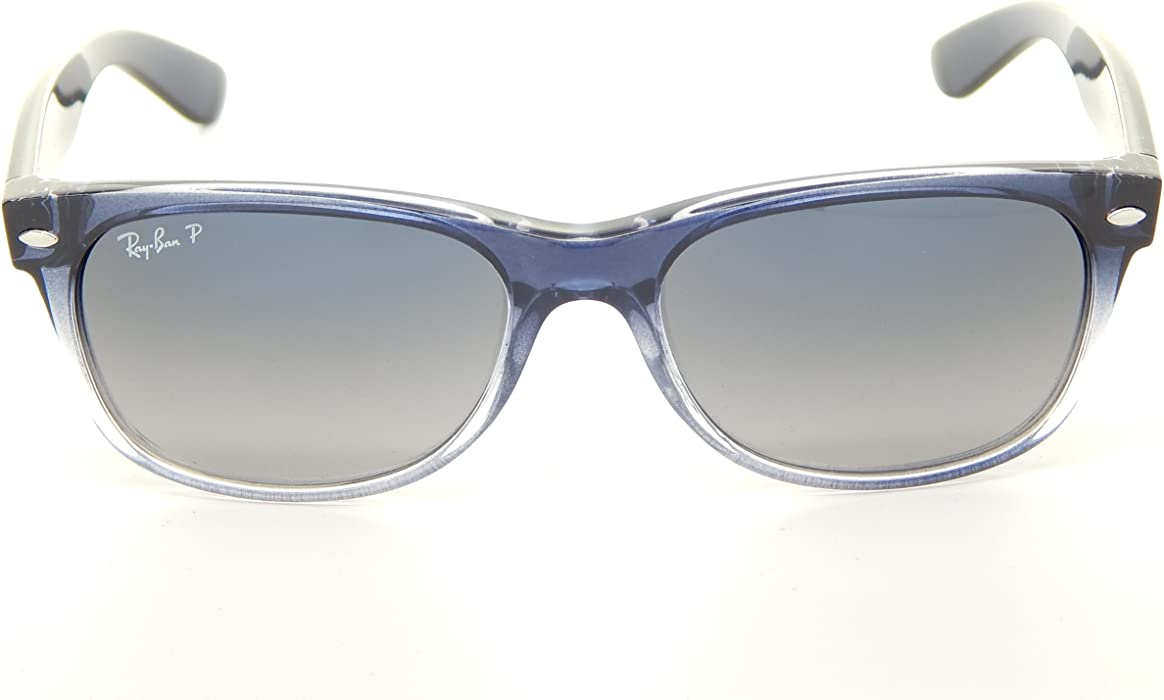 c446c0bb68 Ray Ban Wayfarer RB2132 822 78 Blue Gradient Blue Gradient 55mm Polarized  Sunglasses