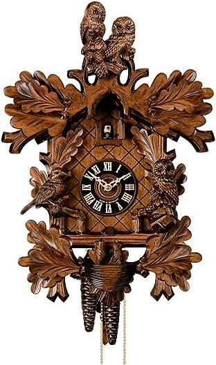 H nes Cuckoo Clock Owls HO 179 4nu
