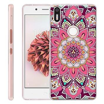 Dooki, Alcatel Pixi 4 3G 5.0 Funda, Delgado Suave Silicona TPU Protectore Teléfono Caso Carcasa Para Alcatel Onetouch Pixi 4 3G 5010D 5.0 (A-012)