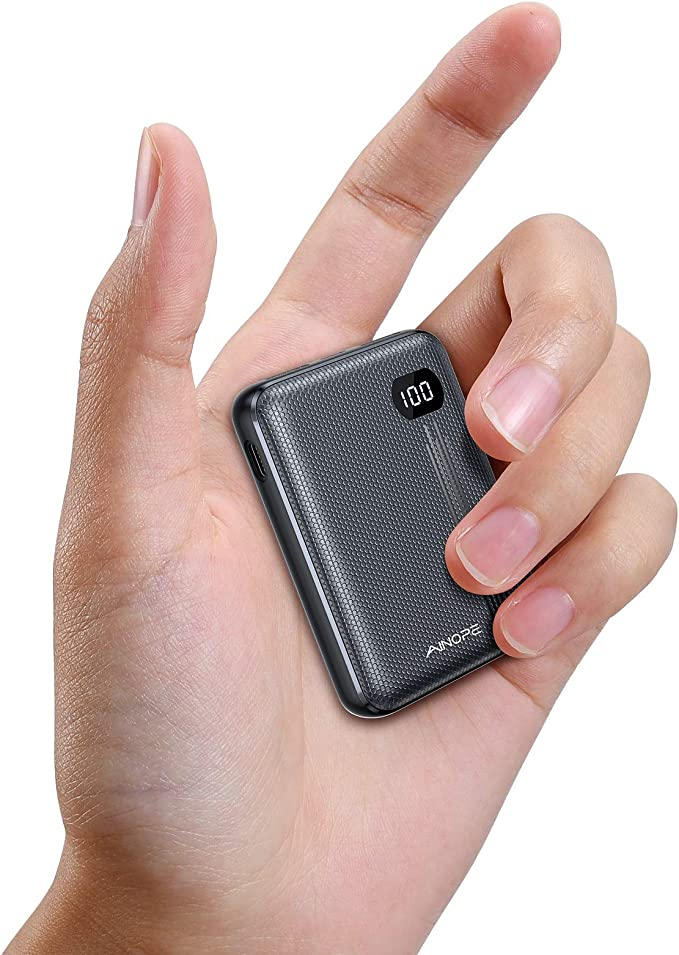 Amazon.com: Portable Charger, One of The Smallest 10000mAh 3A PD 3.0 Power Bank QC 3.0, AINOPE 18W Fast Charge Phone Battery Pack Tri-Output,[LED Display] Phone Charger Compatible iPhone, iPad, Samsung Galaxy etc: Home Audio & Theater