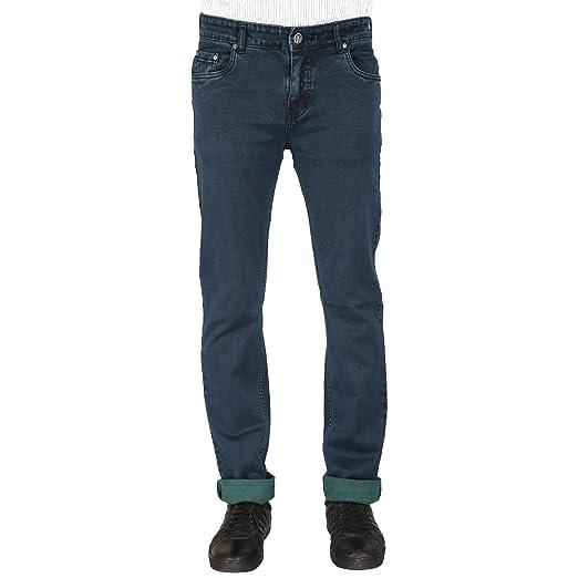 FLAGS Men's Slim Fit Stretch Jeans (008S) Men's Jeans at amazon