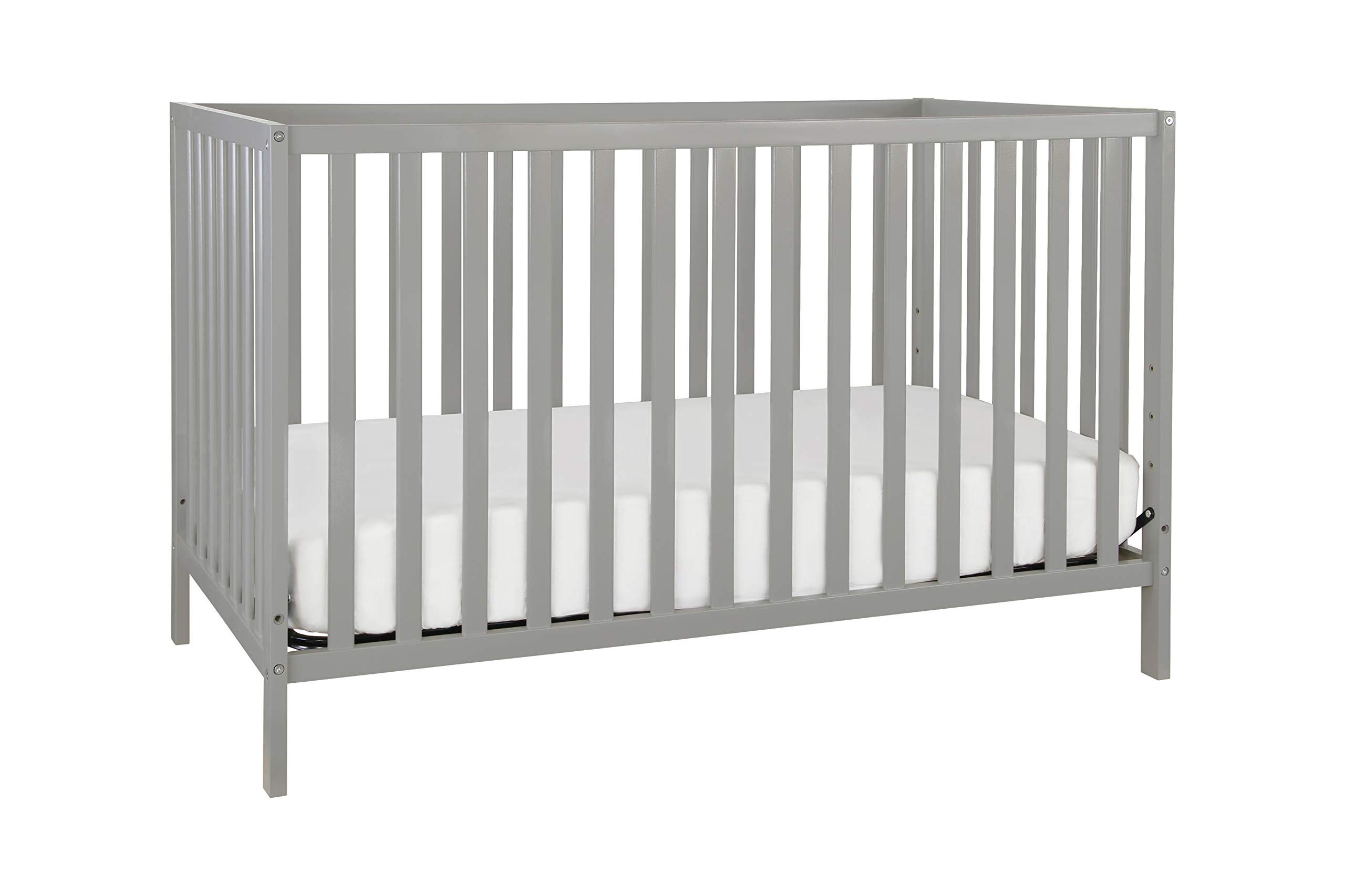 Union 3-in-1 Convertible Crib, Grey by Union
