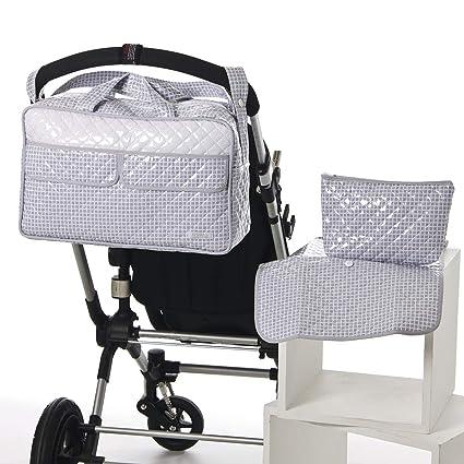 Bolso maternal tipo maleta GRIS. Incluye: Bolso + Cambiador ...