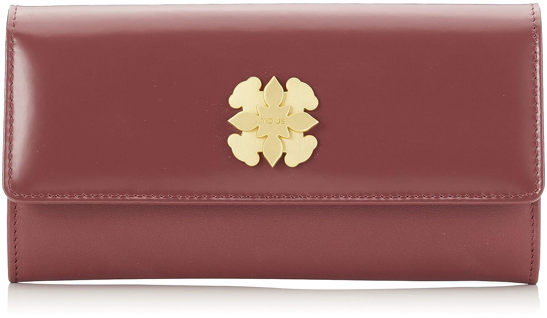 Tous Billetera Mediana Rossie, Cartera para Mujer, Rojo (Granate), 3x10x19 cm (W x H x L)
