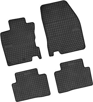 Bär Afc Ni09475 Gummimatten Auto Fußmatten Schwarz Erhöhter Rand Set 4 Teilig Passgenau Für Modell Siehe Details Auto